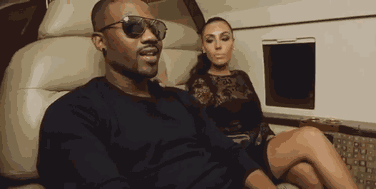 [PHOTO] Ray J and Kim K,s look alike