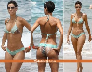Eddie Murphy,s Ex Wife Nicole Spotted In Pants And Bikini