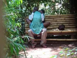 PHOTOS:  Couples Caught Having Sex Inside The Bush In Kenya