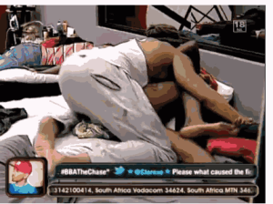 BBA Update: Beverly Osu And Angelo Cant Stop Kissing/Smooching (Watch Video)