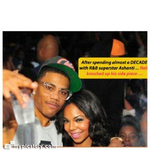 Nelly IMPREGNATES The Chick . . . He Was CHEATING ON ASHANTI WITH!!! (Pics Of The NEW CHICK And Her BABY BUMP)