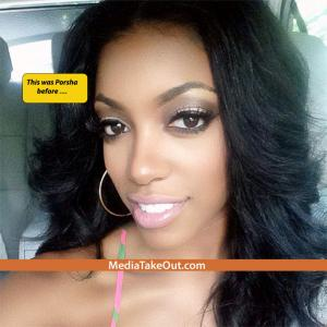 Porsha Stewart CUT OFF ALL HER HAIR . . . Now She's Rockin SHORT HAIR!!!