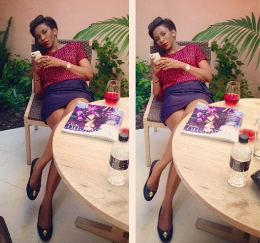 Genevieve Nnaji: Spot The Difference