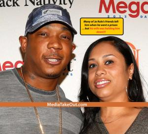 JA RULE Is Spotted Out On The RED CARPET . . . And His HEAD IS SO SWOLLEN . . . It Looks Like It's About TO EXPLODE!!!