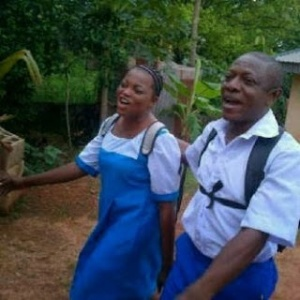 Funke AKINDELE and Nkem Owoh played role of student. Lmao