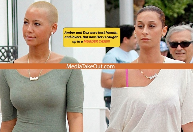 Amber Rose Lesbian Lover Get Caughts Up In. Murder Case photo