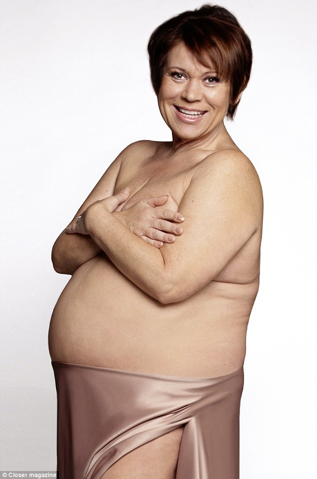 Tina Malone Strips To Show Baby Bump