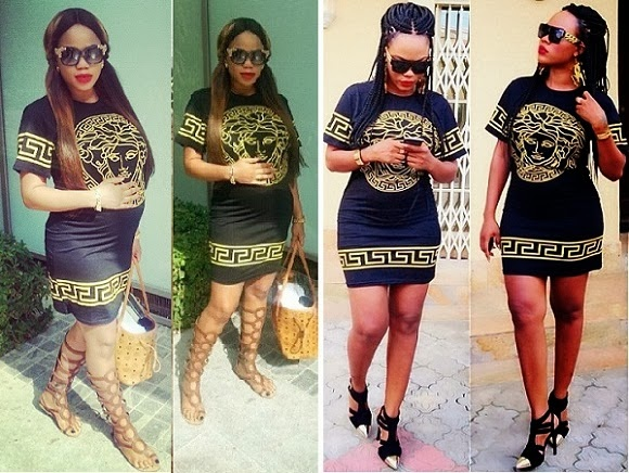 Who Rocked It Better In This Versace: Toyin Lawani vs Daniella Okeke