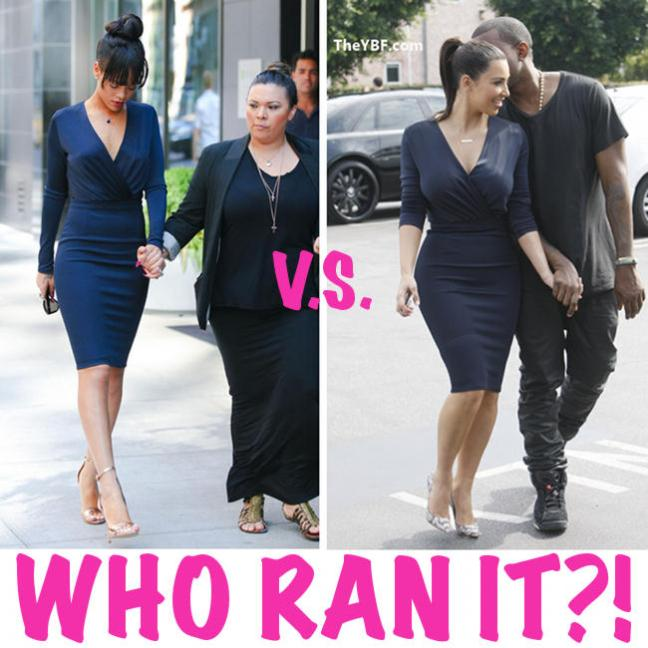 who rocked it better: Rihanna VS. Kim K. In GIVENCHY