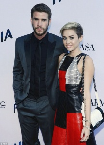 Miley and ex liam
